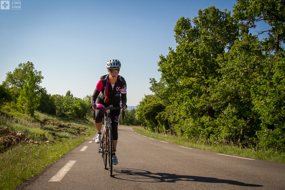 The road to Mont Ventoux from Sault to Chalet Reynard