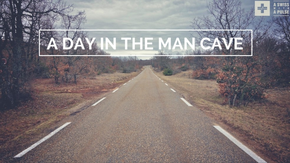 Ultralight bike touring in France: a day in the man cave
