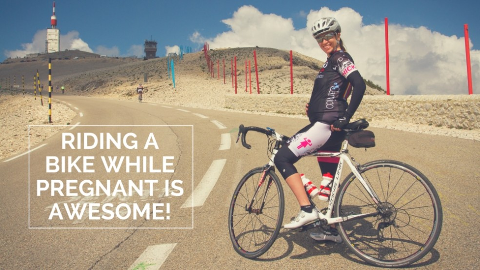 Featured image Riding a bike while pregnant is awesome