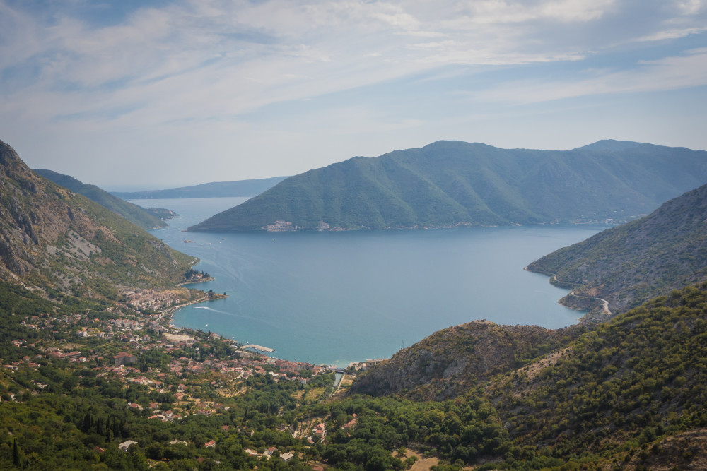 The bay of Kotor during the 2015 Transcontinental Race