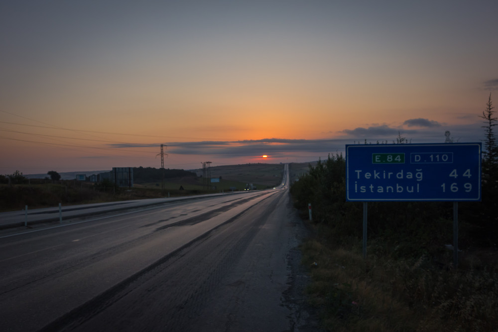 Riding to Istanbul on the last day of the 2015 Transcontinental Race