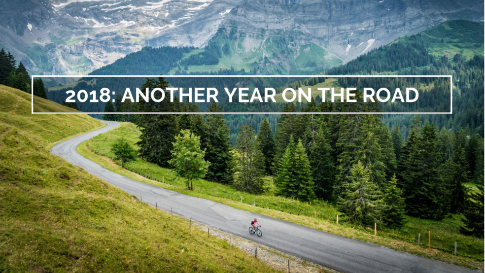 2018 another year on the road