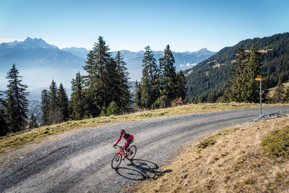 Gravel biking in Villars-sur-Ollon